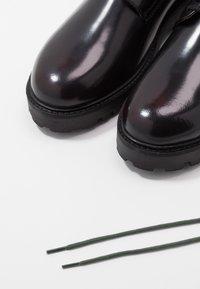 Walk London - SEAN DERBY - Zapatos de vestir - burgundy - 5