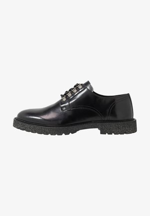 HEN SHOE - Stringate - black