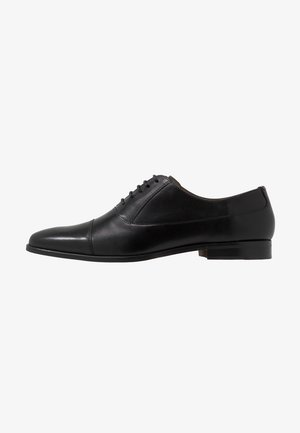 HOUSTON TOE CAP - Zapatos con cordones - black