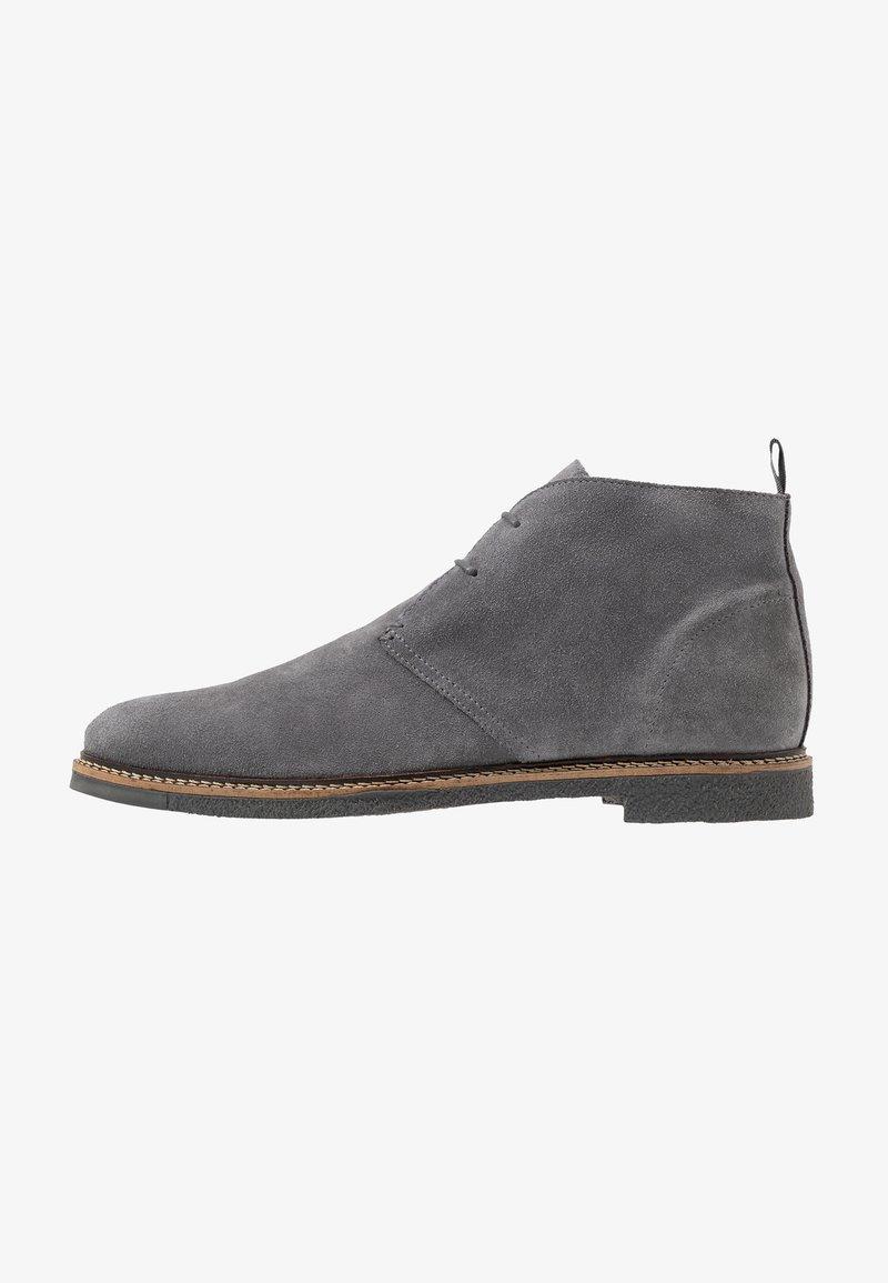 Walk London - DYLAN DESERT BOOT - Zapatos con cordones - crut grey