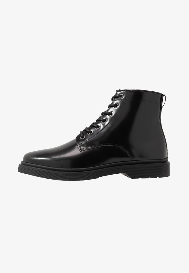 CILLIAN LACE BOOT - Veterboots - black