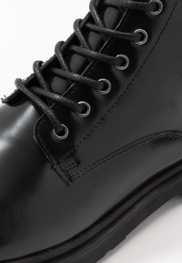 Walk London - CILLIAN LACE BOOT - Lace-up ankle boots - black - 5