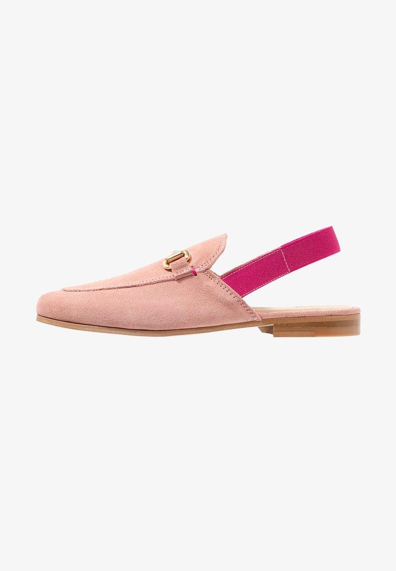 Walk London - JUDE MULE ESLASTIC - Scarpe senza lacci - pink