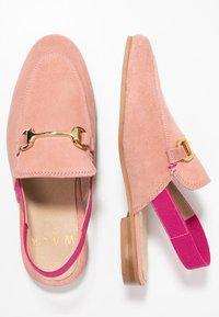 Walk London - JUDE MULE ESLASTIC - Scarpe senza lacci - pink - 1
