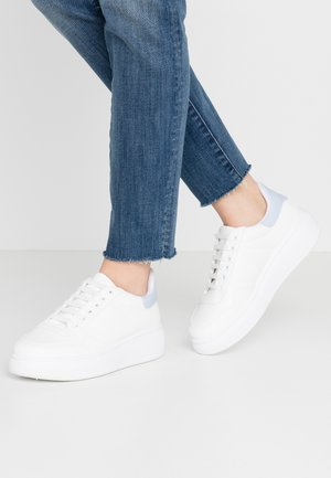 HEAVY SOLE TRAINER - Trainers - white/blue