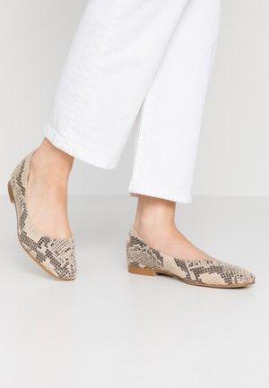 SQUARE TOE BALLET  - Ballet pumps - grey