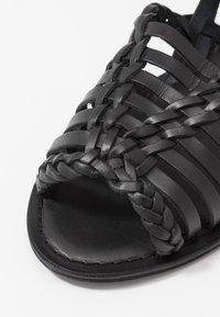 Warehouse - HUARACHE - Sandals - black - 2