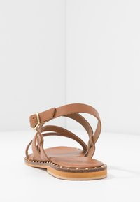 Warehouse - STRAP STUDDED  - Sandals - tan - 5