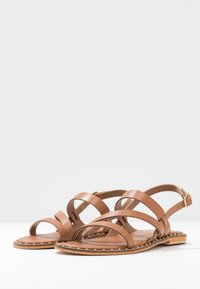 Warehouse - STRAP STUDDED  - Sandals - tan - 4