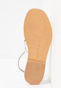 Warehouse - GLADIATOR  - Sandals - silver - 6