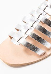 Warehouse - GLADIATOR  - Sandals - silver - 2