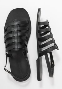 Warehouse - GLADIATOR  - Sandals - black - 3