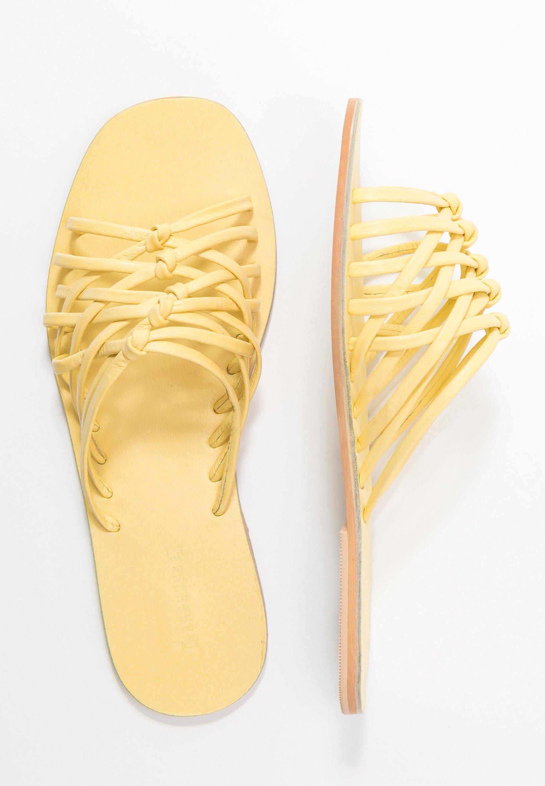 Warehouse MULTI KNOT - Sandaler - pale yellow