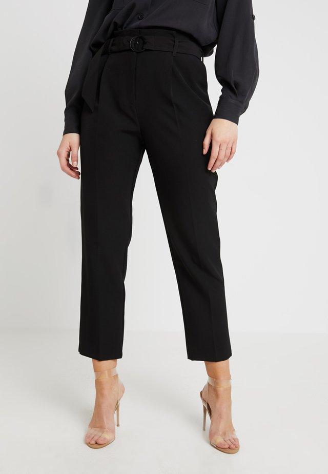 PEG TROUSER - Kalhoty - black