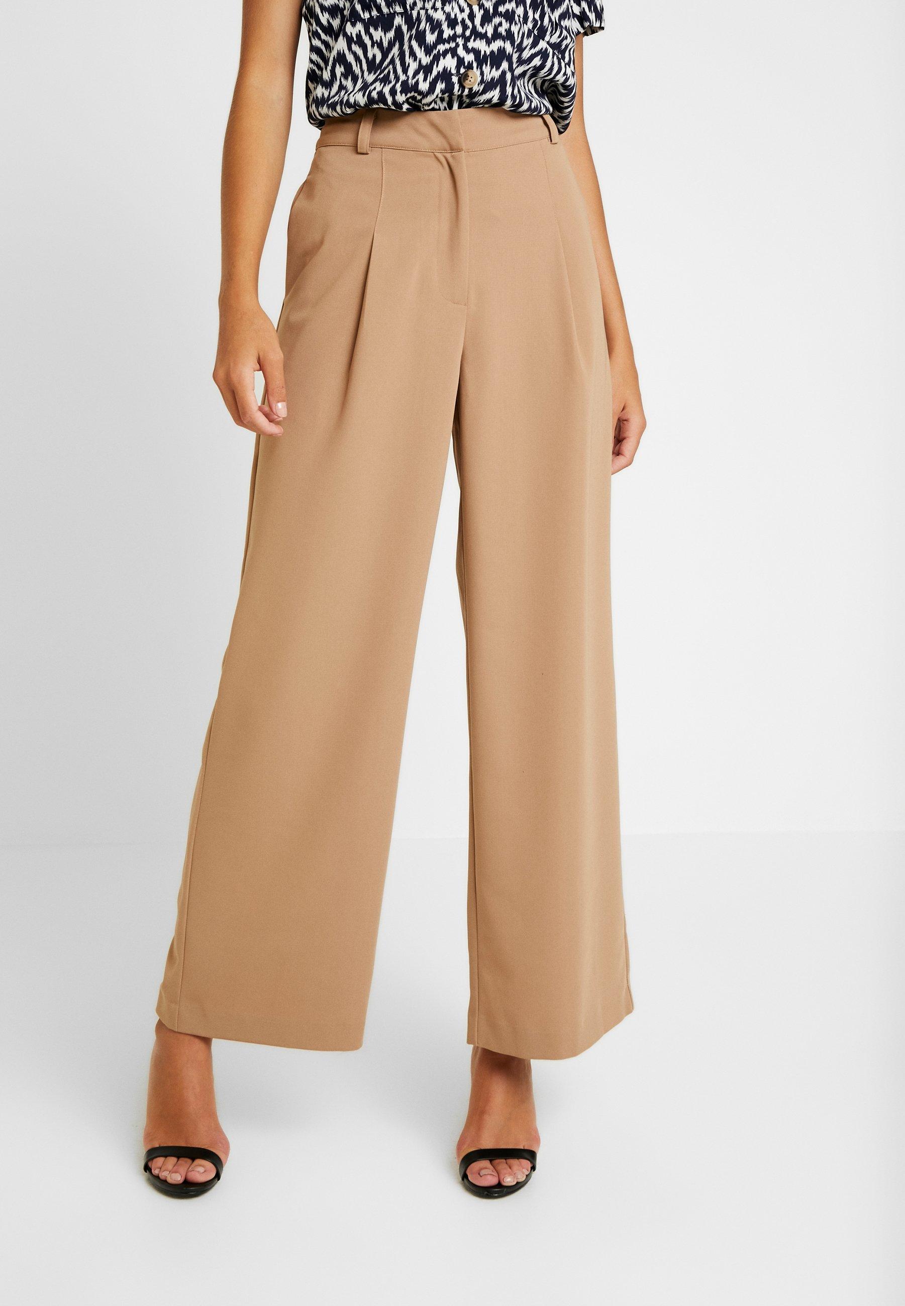 Camel Warehouse Classique TrousersPantalon Leg Wide 3RcALS54jq