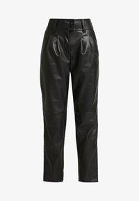 Warehouse - TROUSERS - Pantalon classique - black - 4