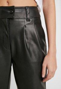Warehouse - TROUSERS - Pantalon classique - black - 5