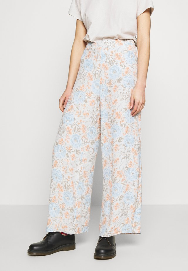 ORNATE VINES PALAZZO WIDE LEG TROUSER - Kangashousut - multi
