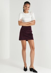 Warehouse - SKIRT - A-Linien-Rock - berry - 1