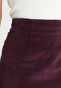 Warehouse - SKIRT - A-Linien-Rock - berry - 4