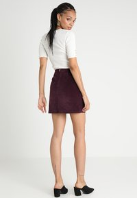 Warehouse - SKIRT - A-Linien-Rock - berry - 2