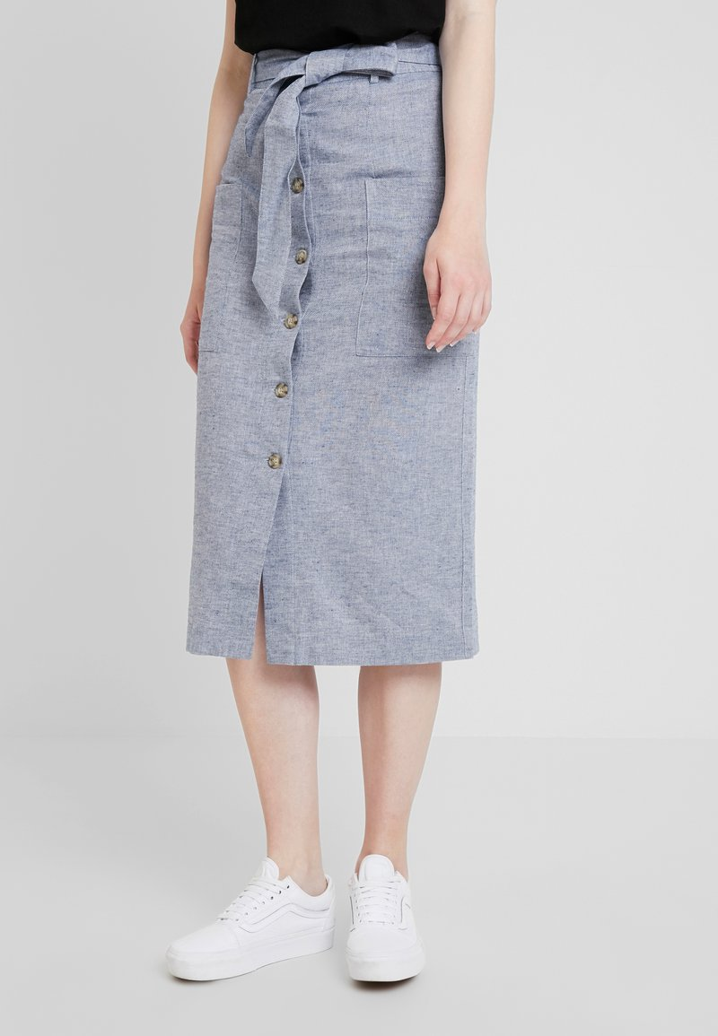 Warehouse - SKIRT - Maxinederdele - blue