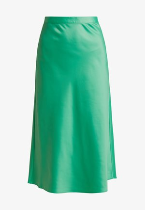 BIAS CUT MIDI SKIRT - A-lijn rok - green