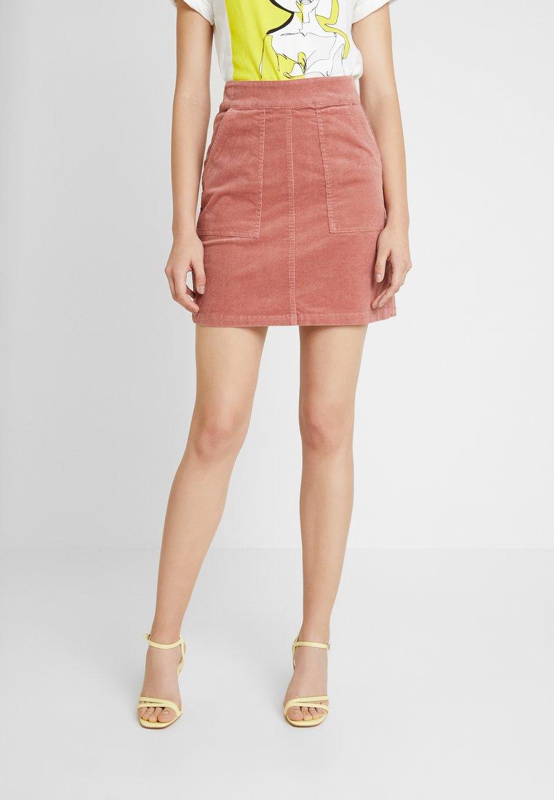 Warehouse - SKIRT CORD - Minifalda - light pink