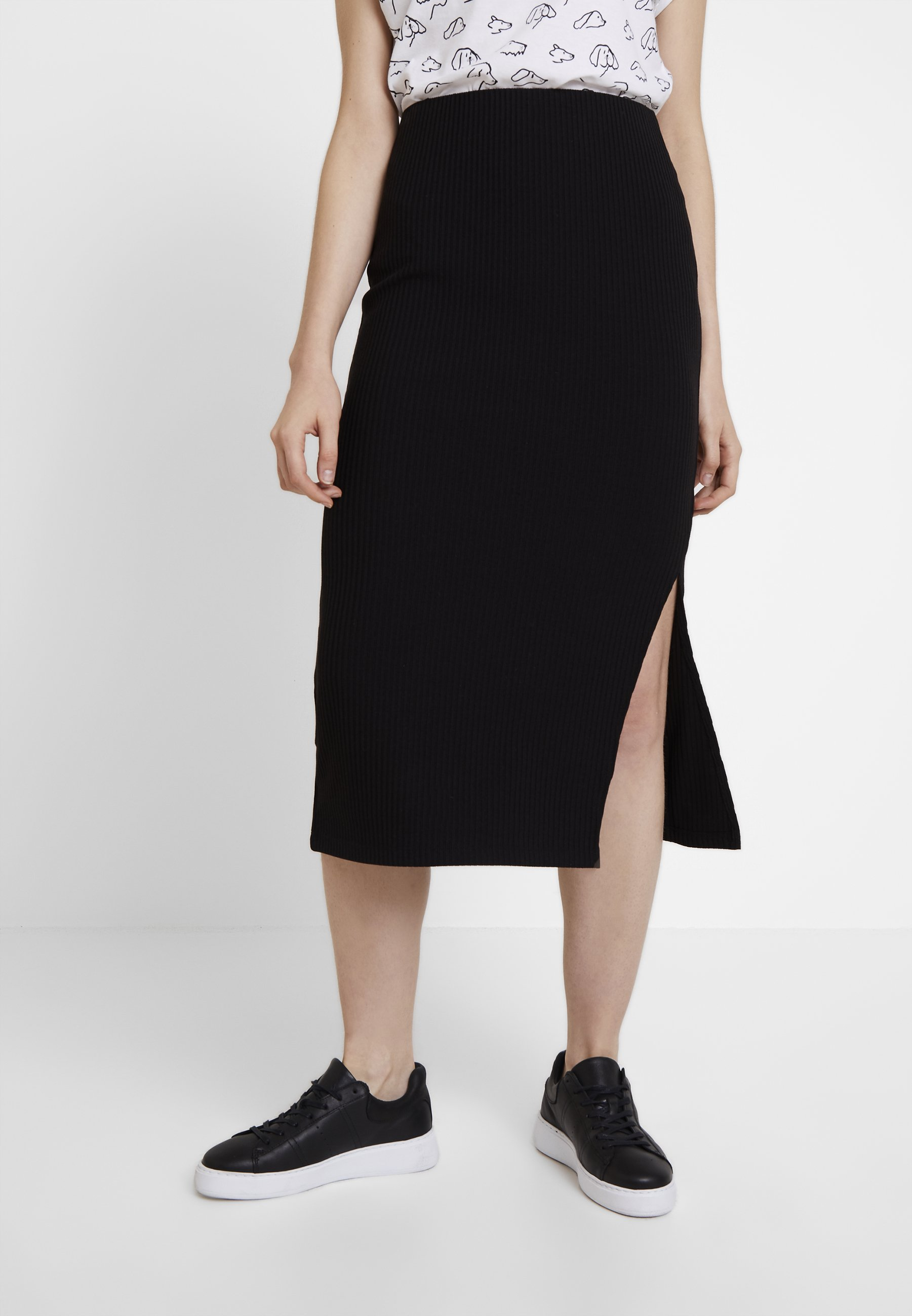 Black SkirtJupe Warehouse Midi Warehouse Crayon Midi CBxoed