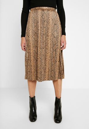 PLEATED SKIRT - A-line skirt - multi