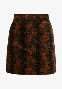 Warehouse - SNAKE PELMET SKIRT - A-line skirt - snake - 4