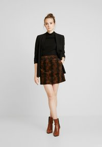 Warehouse - SNAKE PELMET SKIRT - A-line skirt - snake - 1