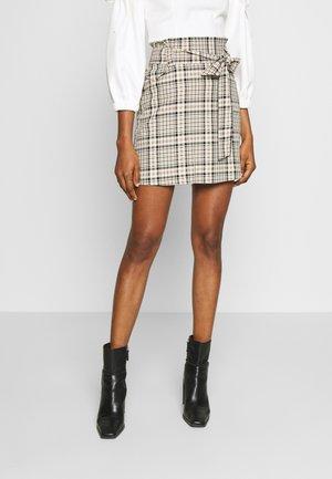 TIE WAIST PELMET SKIRT - A-line skirt - multi