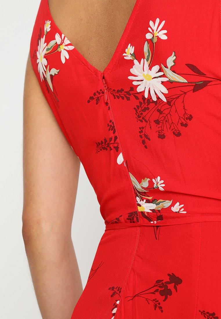 Warehouse Robe d'été - rouge red