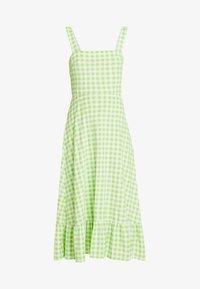 Warehouse - SHRIMPS GINGHAM DRESS - Maxi dress - green - 4