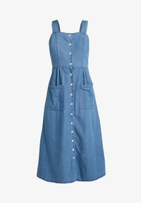 Warehouse - STRAPPY BUTTON THROUGH DRESS - Maxi dress - mid wash - 5