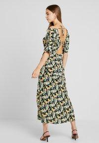 Warehouse - COWL FLORAL SPLIT DRESS - Maxi dress - multi - 3