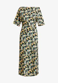 Warehouse - COWL FLORAL SPLIT DRESS - Maxi dress - multi - 5