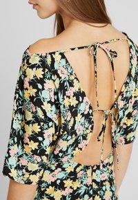 Warehouse - COWL FLORAL SPLIT DRESS - Maxi dress - multi - 6