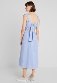 Warehouse - CHAMBRAY DRESS - Day dress - light blue - 2