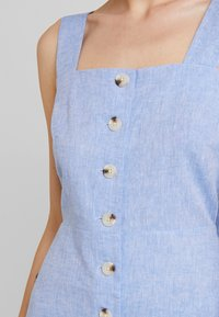 Warehouse - CHAMBRAY DRESS - Day dress - light blue - 5