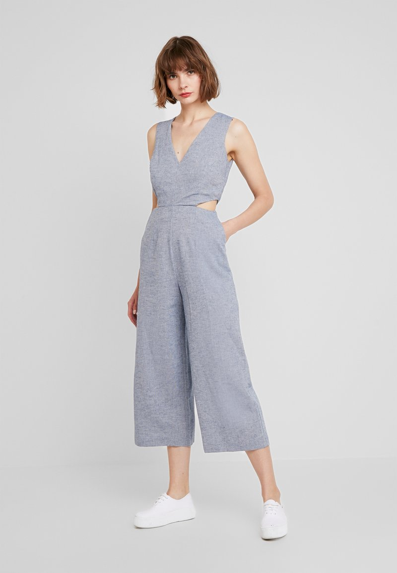 Warehouse - Jumpsuit - chambray