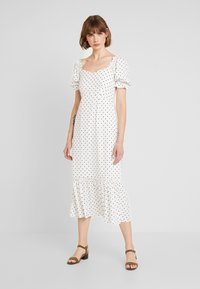 Warehouse - SPOT PRARIE DRESS - Day dress - ivory base - 0
