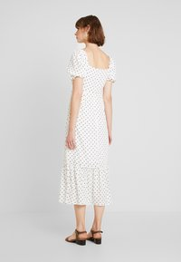 Warehouse - SPOT PRARIE DRESS - Day dress - ivory base - 2