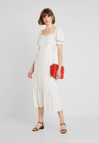 Warehouse - SPOT PRARIE DRESS - Day dress - ivory base - 1