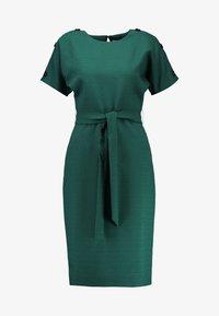 Warehouse - CRINKLE DRESS - Day dress - green - 3
