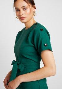 Warehouse - CRINKLE DRESS - Day dress - green - 4