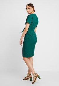 Warehouse - CRINKLE DRESS - Day dress - green - 2