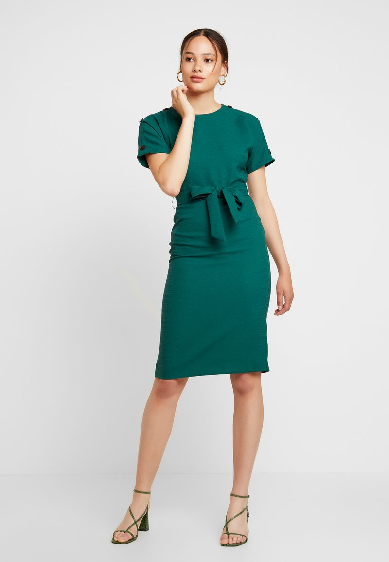 Warehouse - CRINKLE DRESS - Day dress - green