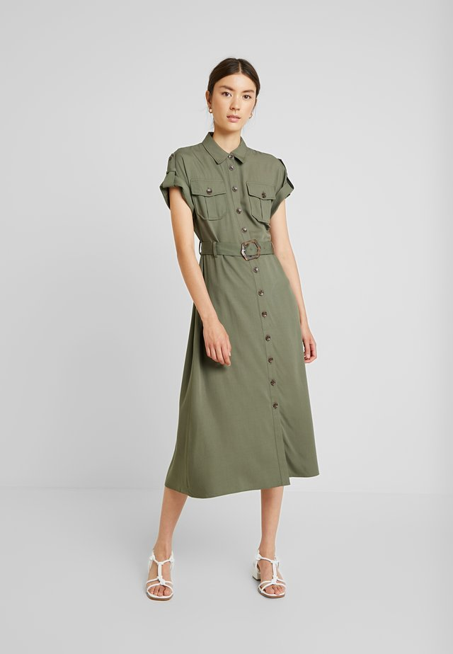 UTILITY MIDI DRESS - Maxikleid - khaki